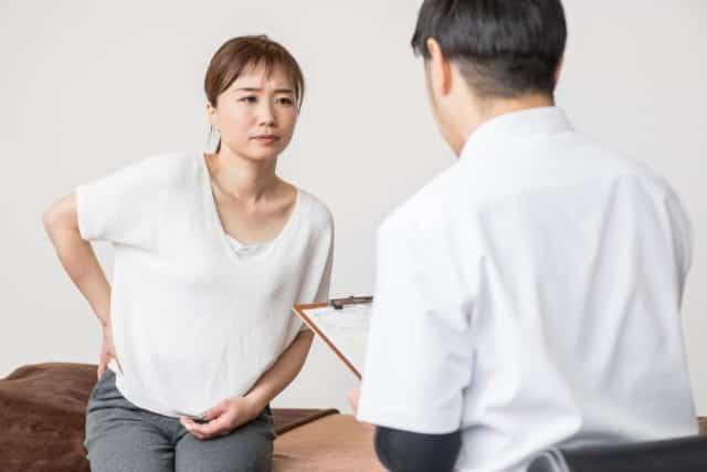 日常生活での習慣や姿勢についてアドバイスも行います