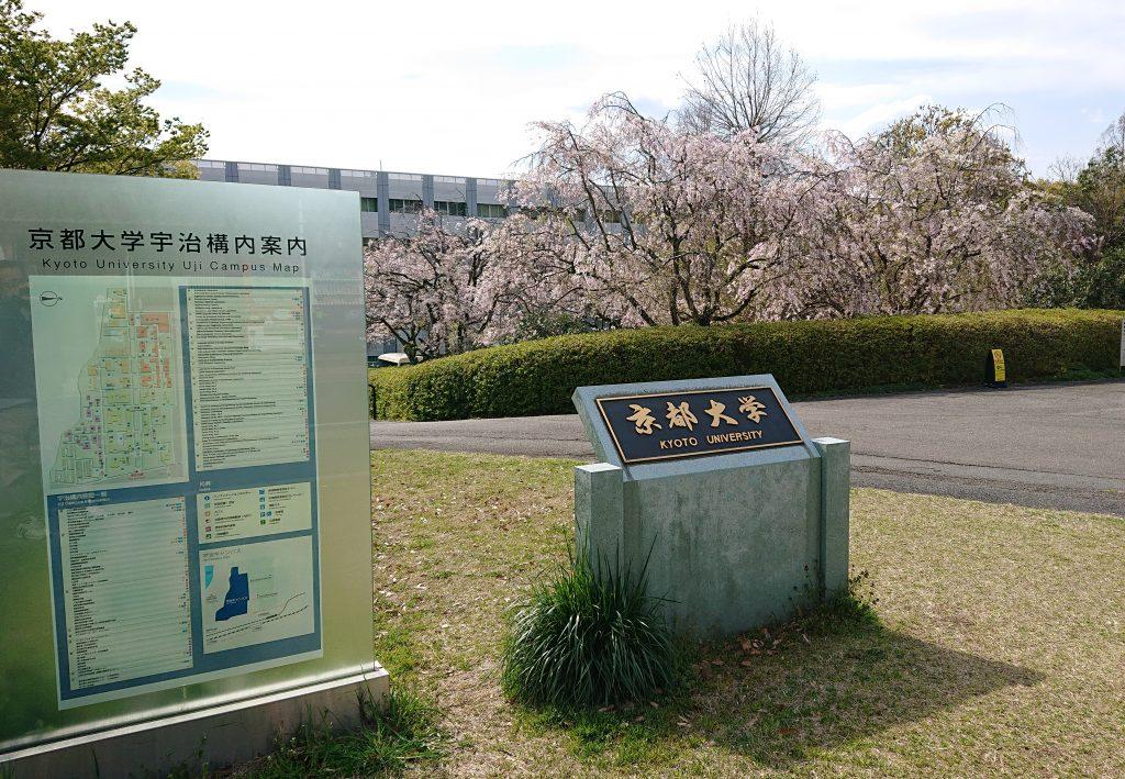 京都大学構内入口