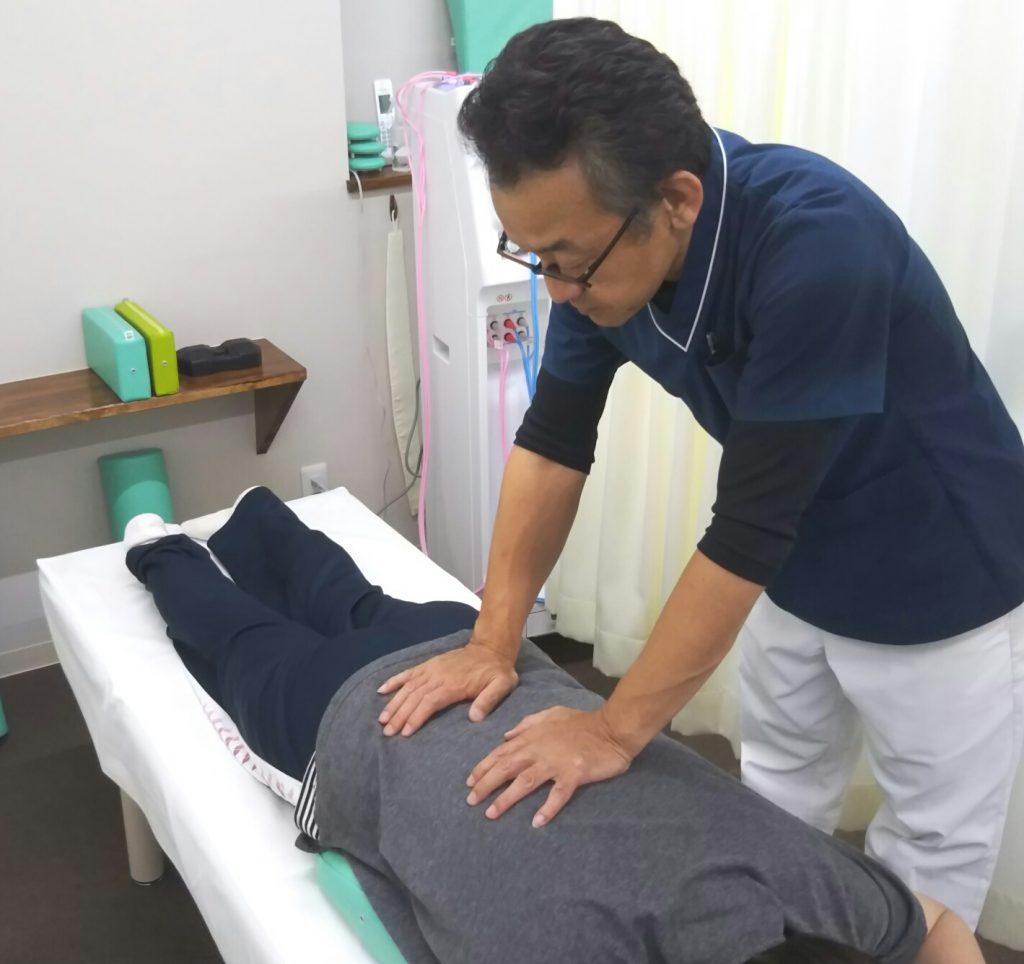 当院の施術1